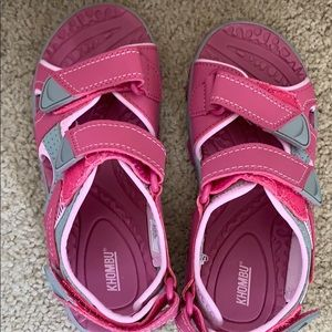 Water sandals in like new condition